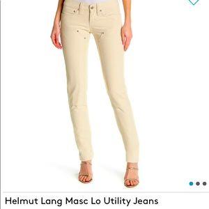 Helmet Lang BLUE Masc Lo Utility Jeans